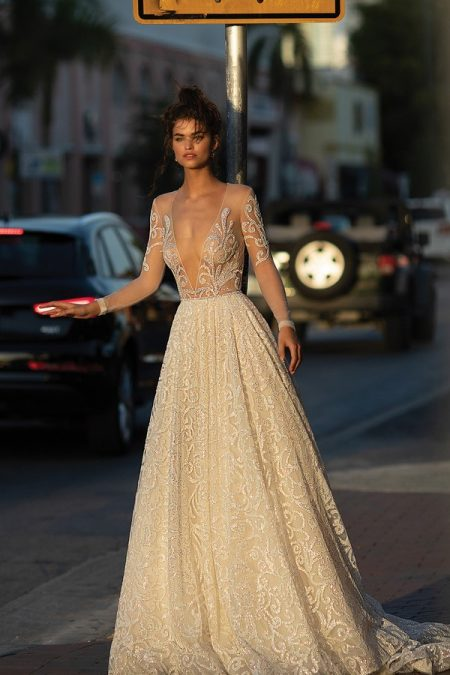 19-12 Wedding Dress from the BERTA Spring/Summer 2019 Bridal Collection