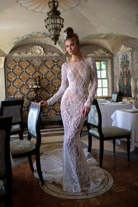 19-14 Wedding Dress from the BERTA Spring/Summer 2019 Bridal Collection