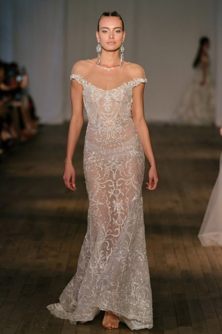 19-21 Wedding Dress from the BERTA Spring/Summer 2019 Bridal Collection