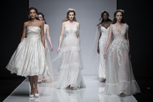 2019 Wedding Dresses on Catwalk