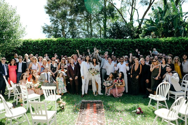 Wedding group shot