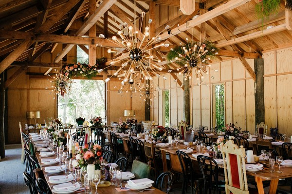 Long wedding tables in Merribee