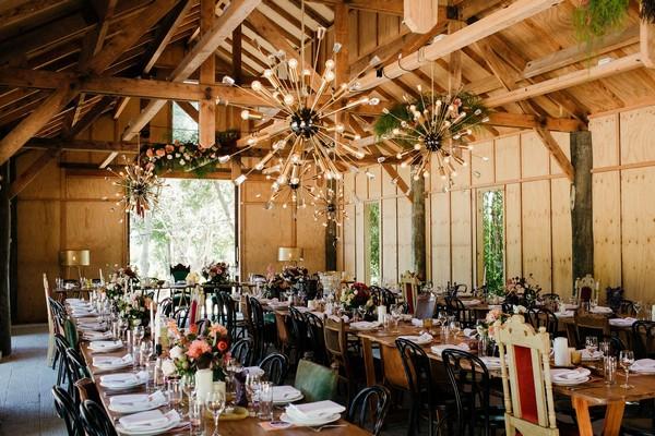Long wedding tables in Merribee