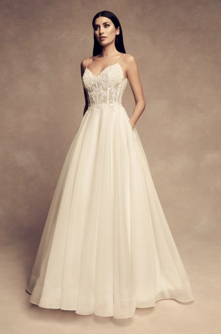 4802 Wedding Dress from the Paloma Blanca Fall/Winter 2018 Bridal Collection