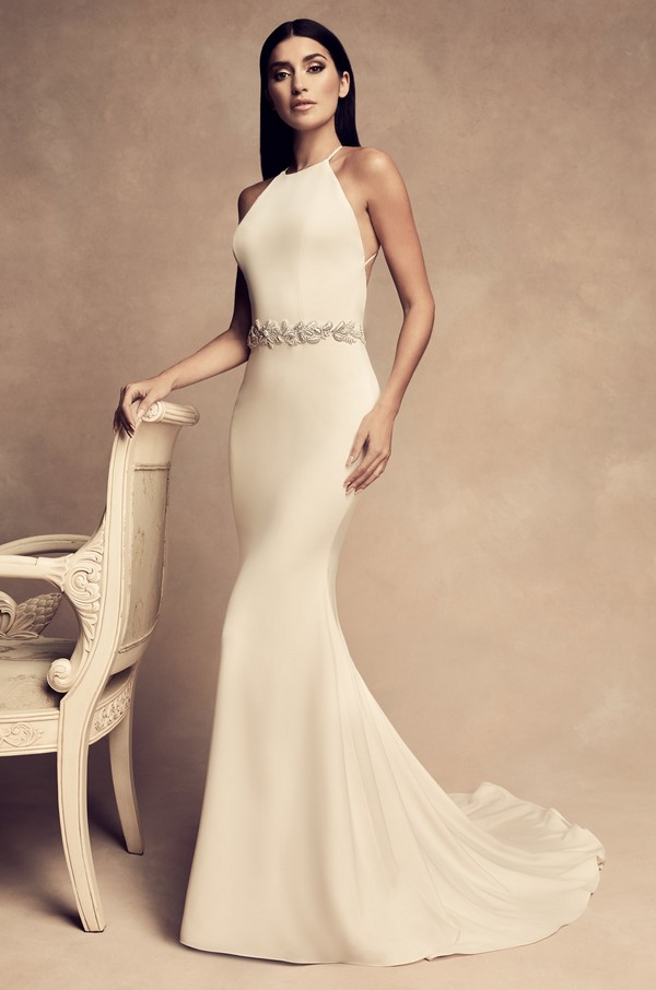 4809 Wedding Dress from the Paloma Blanca Fall/Winter 2018 Bridal Collection