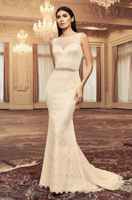 4815 Wedding Dress from the Paloma Blanca Fall/Winter 2018 Bridal Collection