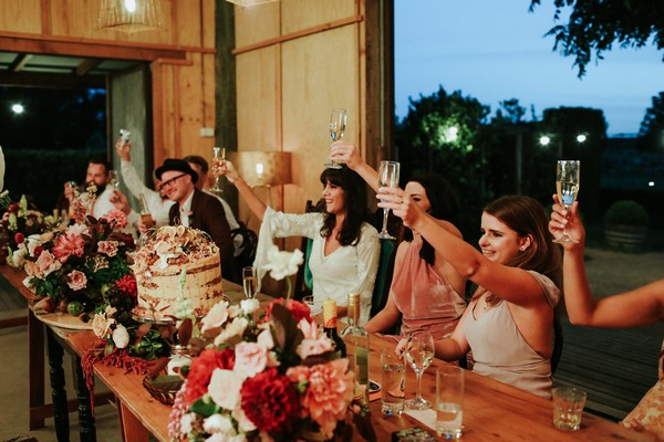 Toasting wedding speeches