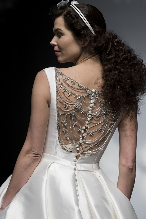 Brian Chen 2019 Wedding Dress with Detailed Back