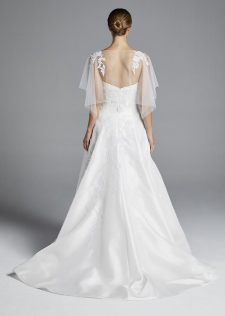 Back of Chloe Wedding Dress from the Anne Barge Spring 2019 Bridal Collection