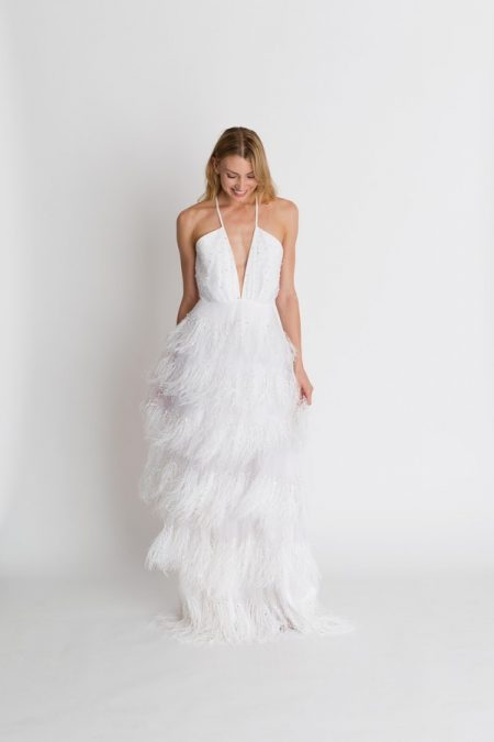 Coco Wedding Dress from the Alexandra Grecco The Magic Hour 2018 Bridal Collection