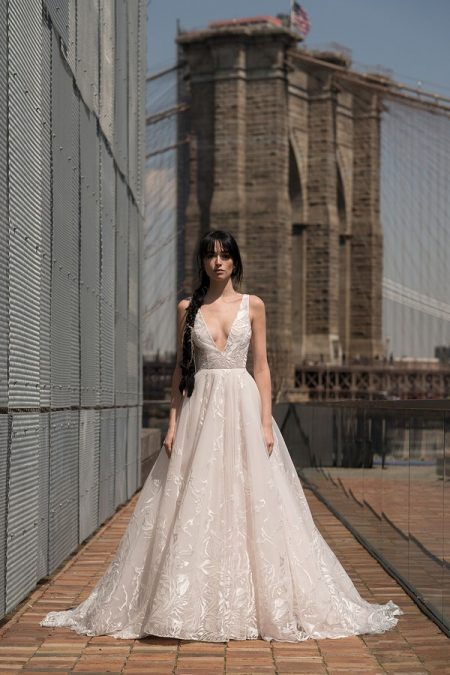 Davis Wedding Dress from the Rita Vinieris Alyne Spring 2019 Bridal Collection