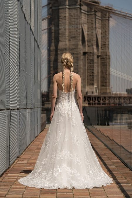Back of Earhart Wedding Dress from the Rita Vinieris Alyne Spring 2019 Bridal Collection