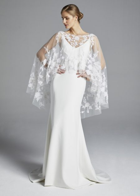 Elle Wedding Dress from the Anne Barge Spring 2019 Bridal Collection