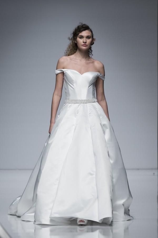 Eternity Bridal 2019 Wedding Dress with Cold Shoulder Straps