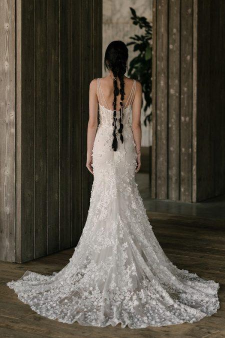Back of Haywards Wedding Dress from the Rita Vinieris Rivini Spring 2019 Bridal Collection