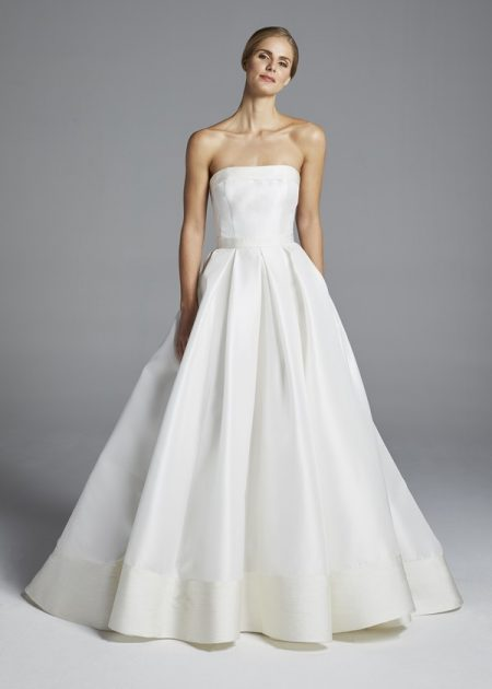 Hutton Wedding Dress from the Anne Barge Spring 2019 Bridal Collection