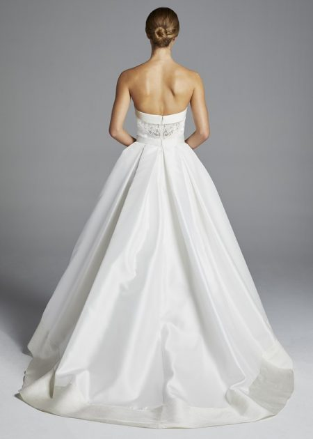 Back of Hutton Wedding Dress from the Anne Barge Spring 2019 Bridal Collection