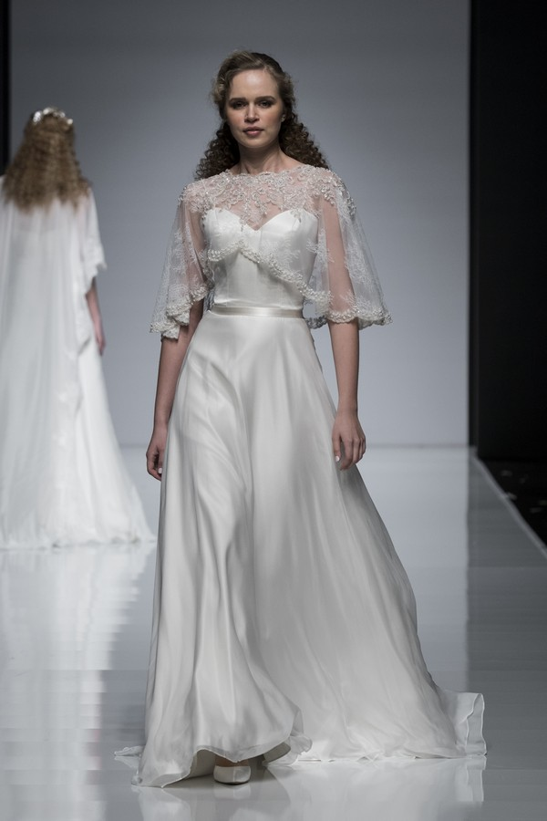 Ivory and Co 2019 Wedding Dress with Short Cape
