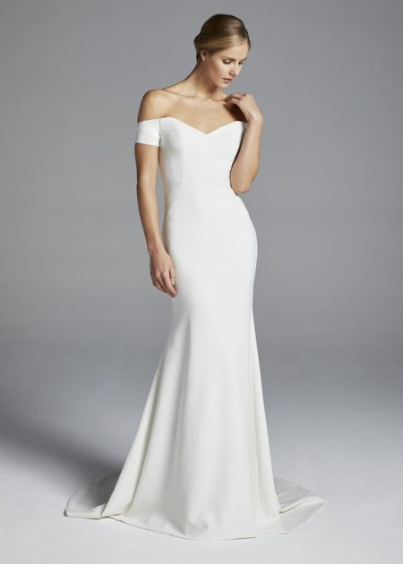 Jolie Wedding Dress from the Anne Barge Spring 2019 Bridal Collection
