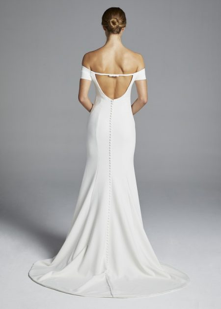 Back of Jolie Wedding Dress from the Anne Barge Spring 2019 Bridal Collection