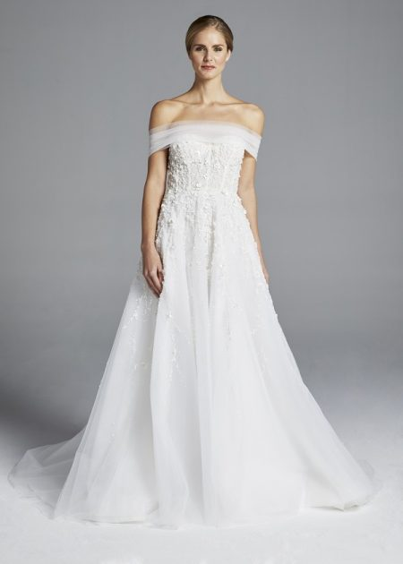 Karlie Wedding Dress from the Anne Barge Spring 2019 Bridal Collection