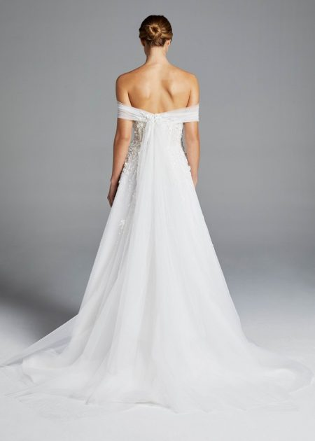 Back of Karlie Wedding Dress from the Anne Barge Spring 2019 Bridal Collection