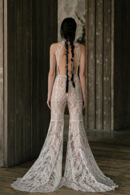 Back of Keaton Wedding Dress from the Rita Vinieris Rivini Spring 2019 Bridal Collection