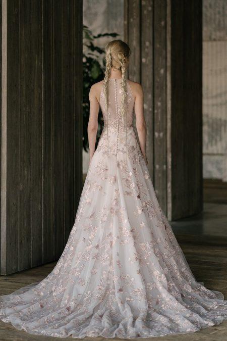 Back of Kidman Wedding Dress from the Rita Vinieris Rivini Spring 2019 Bridal Collection