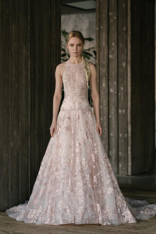 Kidman Blush Wedding Dress from the Rita Vinieris Rivini Spring 2019 Bridal Collection