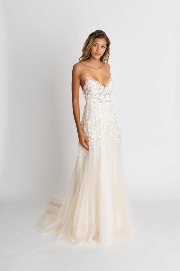 Lana Blush Wedding Dress from the Alexandra Grecco The Magic Hour 2018 Bridal Collection