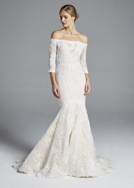 Loren Wedding Dress from the Anne Barge Spring 2019 Bridal Collection