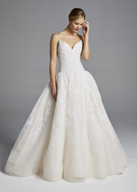 Maggie Wedding Dress from the Anne Barge Spring 2019 Bridal Collection
