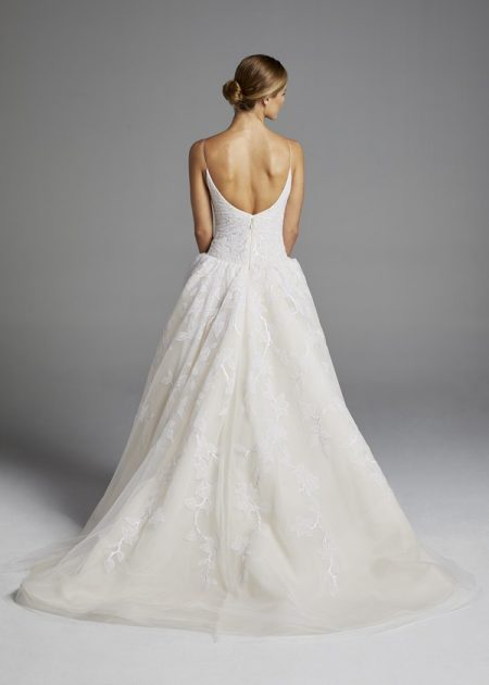 Back of Maggie Wedding Dress from the Anne Barge Spring 2019 Bridal Collection