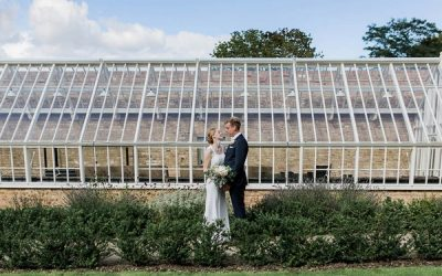 A Garden Wedding at Home with Two Ceremonies