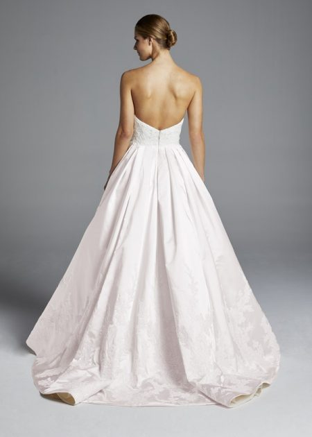 Back of Michelle Wedding Dress from the Anne Barge Spring 2019 Bridal Collection