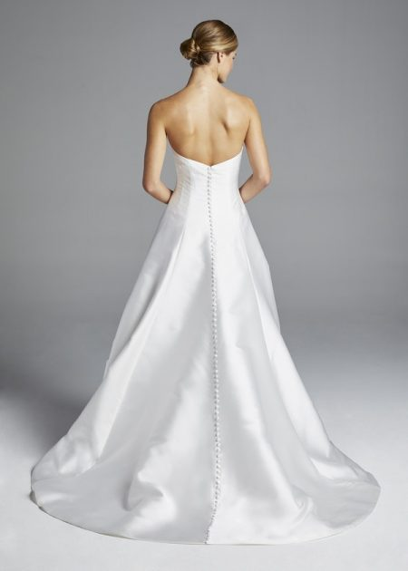 Back of Mindy Wedding Dress from the Anne Barge Spring 2019 Bridal Collection
