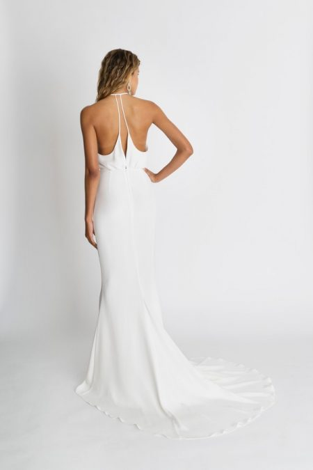 Back of Nico Wedding Dress from the Alexandra Grecco The Magic Hour 2018 Bridal Collection