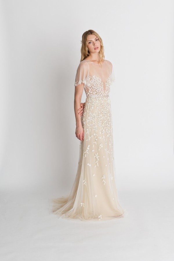 Palma Blush Wedding Dress from the Alexandra Grecco The Magic Hour 2018 Bridal Collection