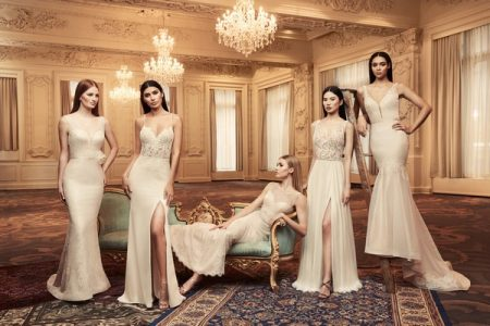 Wedding Dresses from the Paloma Blanca Fall/Winter 2018 Bridal Collection