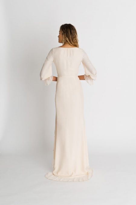 Back of Parisi Wedding Dress from the Alexandra Grecco The Magic Hour 2018 Bridal Collection