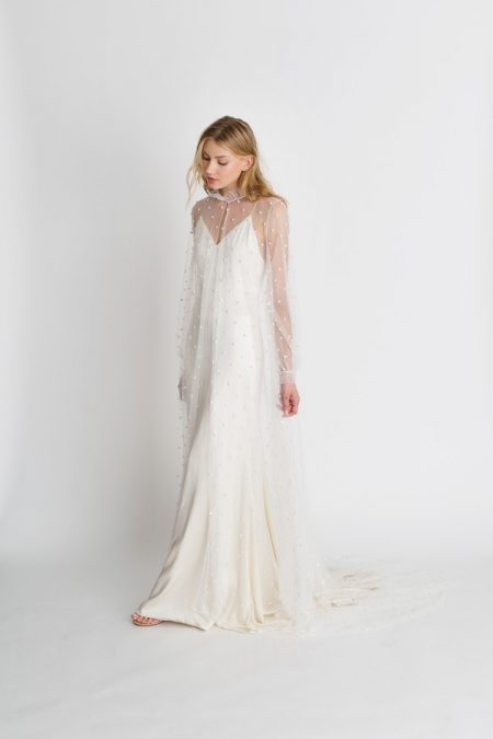 Quinn Jacket from the Alexandra Grecco The Magic Hour 2018 Bridal Collection