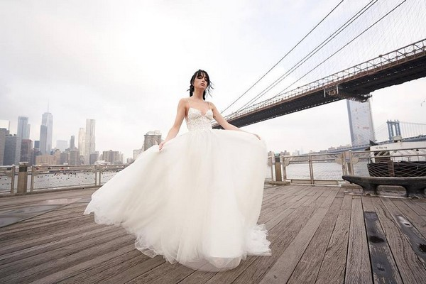 Rita Vinieris Alyne Spring 2019 Bridal Collection - Kahlo Dress