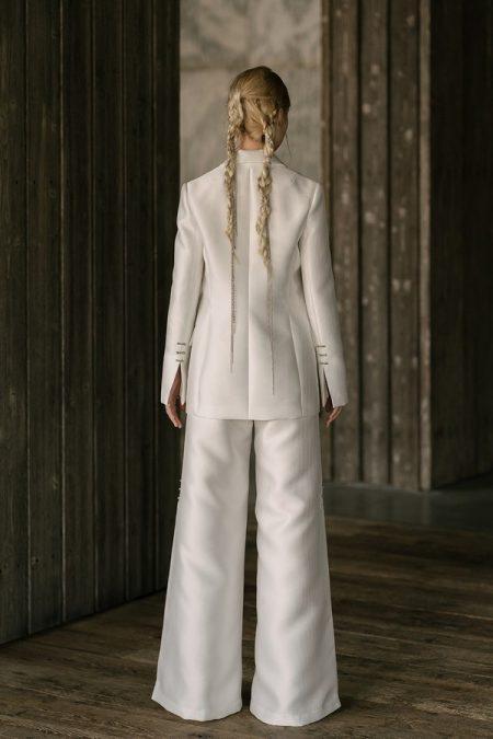 Back of Sanger Wedding Dress from the Rita Vinieris Rivini Spring 2019 Bridal Collection