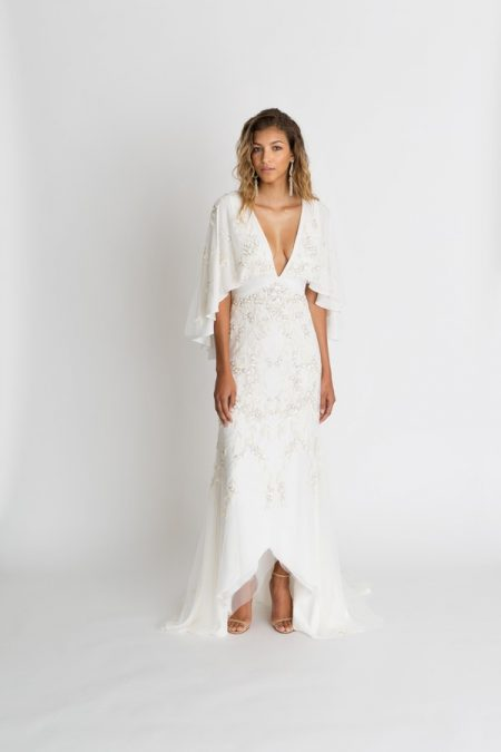 Sawyer Beaded Wedding Dress from the Alexandra Grecco The Magic Hour 2018 Bridal Collection