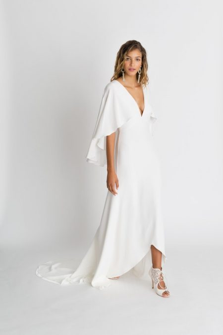 Sawyer Solid Wedding Dress from the Alexandra Grecco The Magic Hour 2018 Bridal Collection