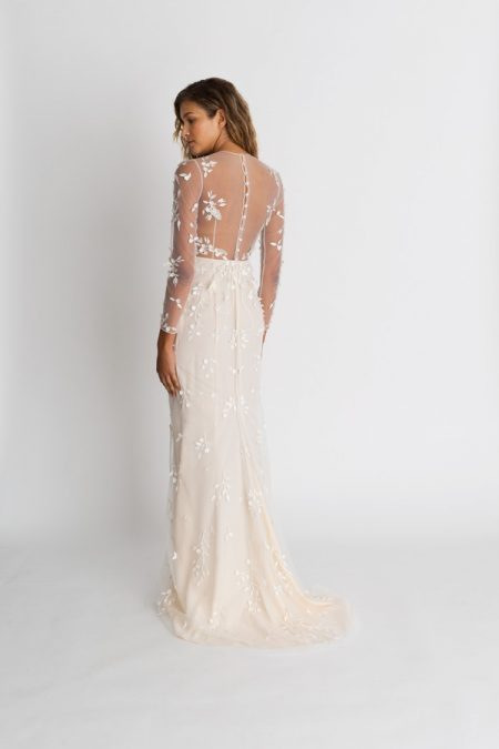 Back of Wilder Wedding Dress from the Alexandra Grecco The Magic Hour 2018 Bridal Collection