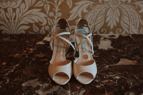 Charlotte Mills bridal shoes
