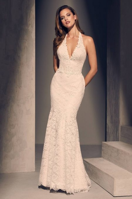 2205 Wedding Dress from the Mikaella Fall 2018 Bridal Collection