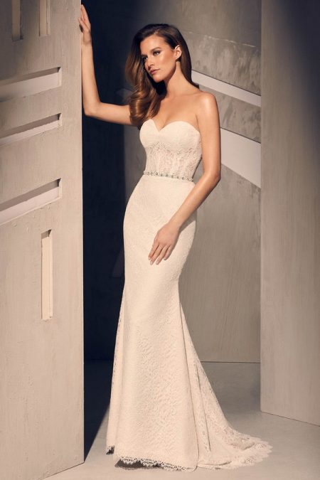 2209 Wedding Dress from the Mikaella Fall 2018 Bridal Collection
