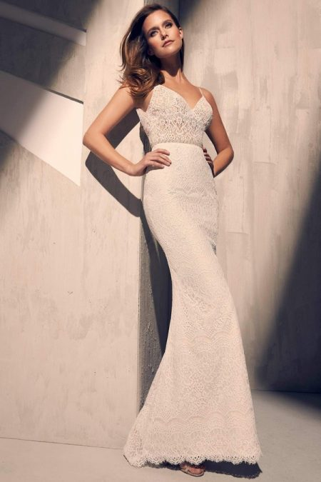 2215 Wedding Dress from the Mikaella Fall 2018 Bridal Collection
